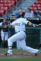 Buffalo Bisons second baseman Justin Turner #2 during a game against the Syracuse Chiefs at Dunn Tire Park on April 7, 2011 in Buffalo, New York.  Syracuse defeated Buffalo 8-5.  Photo By Mike Janes/Four Seam Images