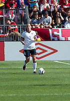 02 June 2013: U.S Women's National Soccer Team defender Christiie Rampone #3 in action during an International Friendly soccer match between the U.S. Women's National Soccer Team and the Canadian Women's National Soccer Team at BMO Field in Toronto, Ontario.<br /> The U.S. Women's National Team Won 3-0.