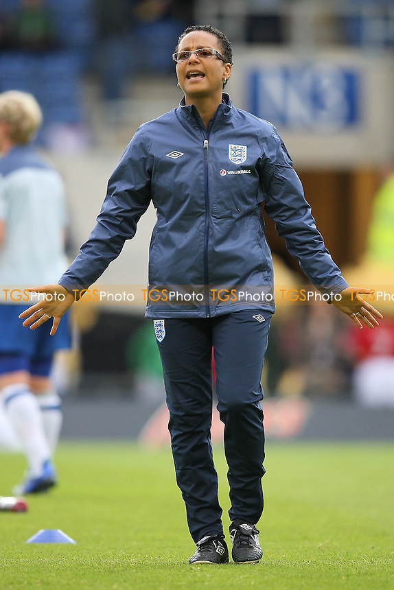 England manager Hope Powell - England Women vs Sweden Women - International Football at Oxford United FC - 17/05/11 - MANDATORY CREDIT: Gavin Ellis/TGSPHOTO - Self billing applies where appropriate - Tel: 0845 094 6026