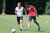 Dagenham & Redbridge FC Training 17-07-15