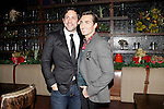 LOS ANGELES - DEC11: Steve Kazee, Scott Nevins at Scott Nevins Presents SPARKLE: An All-Star Holiday Concert to benefit The Actors Fund at Rockwell Table & Stage on December 11, 2014 in Los Angeles, California