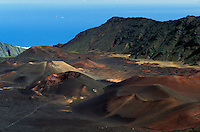 HALEAKALA NATIONAL PARK on Maui in Hawaii
