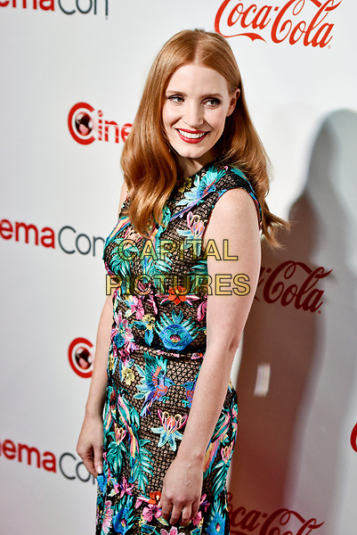 LAS VEGAS, NV - MARCH 30:  Jessica Chastain at the CinemaCon Big Screen Achievement Awards  at The Colosseum at Caesars Palace during CinemaCon 2017on March 30, 2017 in Las Vegas, Nevada. <br /> CAP/MPI/KLH<br /> &copy;KLH/MPI/Capital Pictures