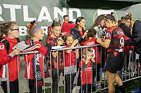 Portland, Oregon - Saturday September 21, 2019: The Portland Thorns vs the Houston Dash at Providence Park