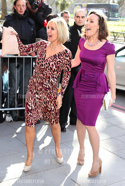 Jacquie Beltrao arriving for the 2013 TRIC Awards, at The Grosvenor House Hotel, London. 12/03/2013 Picture by: Alexandra Glen / Featureflash