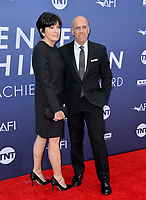 LOS ANGELES, USA. June 07, 2019: Jeffrey Katzenberg & Marilyn Katzenberg at the AFI Life Achievement Award Gala.<br /> Picture: Paul Smith/Featureflash