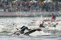 11 AUG 2007 - NOTTINGHAM, UK - British Club Relay Triathlon Championships. (PHOTO (C) NIGEL FARROW)