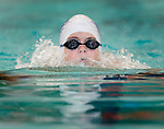 Treehouse's Michael Henry competes in the 50 yard breast race during the 53rd annual Country Club Swimming Championships on Monday, Aug. 6, 2012, in Kearns, Utah. (© 2012 Douglas C. Pizac)