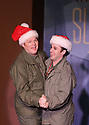 """CSTOCK is presenting the musical  """"White Christmas"""" Dec 2-18 at their Silverdale theater. This production  adaptation features seventeen Irving Berlin songs. Actors F James Raasch, left, and Eric Richardson perform an opening number during a dress rehearsal Monday. Brad Camp 