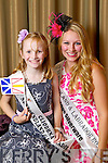 Newfoundland & Labrador Rose Erica Halfyard pictured with her Rosebud Cliodhna O'Connor McCarthy at the Carlton Hotel at the Rose of Tralee on Friday.