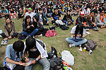 Kaohsiung, MegaPort Music Festival -- Fans at the festival.