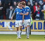 23.12.2018 St Johnstone v Rangers: Matty Kennedy celebrates his goal