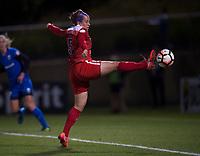 Boyds, MD - Saturday September 30, 2017: Whitney Church during a regular season National Women's Soccer League (NWSL) match between the Washington Spirit and the Seattle Reign FC at Maureen Hendricks Field, Maryland SoccerPlex.
