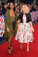 Alesha Dixon &amp; Amanda Holden at the London auditions for Britain's Got Talent 2018 at the London Palladium, London, UK. <br /> 28 January  2018<br /> Picture: Steve Vas/Featureflash/SilverHub 0208 004 5359 sales@silverhubmedia.com