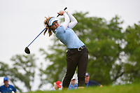 Brooke M. Henderson (CAN) watches her tee shot on 3 during the round 2 of the KPMG Women's PGA Championship, Hazeltine National, Chaska, Minnesota, USA. 6/21/2019.<br /> Picture: Golffile | Ken Murray<br /> <br /> <br /> All photo usage must carry mandatory copyright credit (© Golffile | Ken Murray)