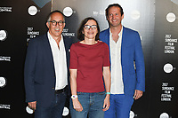 John Cooper, Claire Binns and Trevor Groth (Festival Organisers)<br /> at the Sundance Film Festival:London opening photocall, Picturehouse Central, London.<br /> <br /> <br /> &copy;Ash Knotek  D3270  01/06/2017