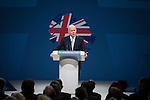 © Joel Goodman - 07973 332324 . No syndication permitted . 29/09/2013 . Manchester , UK . The British Foreign Secretary , WILLIAM HAGUE , addresses the conference on the opening afternoon (Sunday 29th September 2013) . Day 1 of the Conservative Party Conference at Manchester Central . Photo credit : Joel Goodman