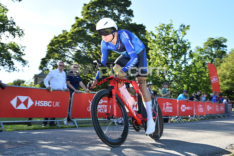 Picture by Simon Wilkinson/SWpix.com 28/06/2018 - Cycling HSBC UK National Road Championships 2018 Individual Time Trial - Kirkley Hall, Northumberland<br />