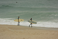 New Jersey has some of the nicest coastline on the East coast , where surfers enjoy surfing the waves .