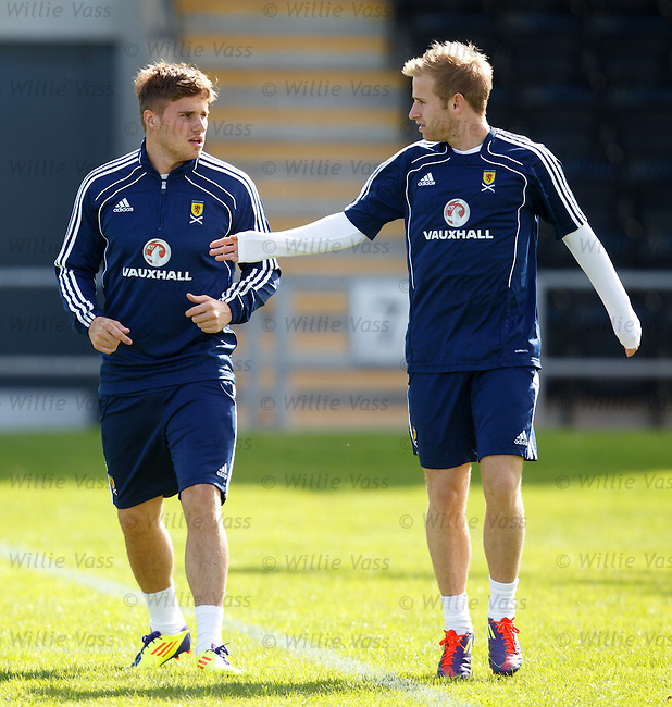David Goodwillie and Barry Bannan