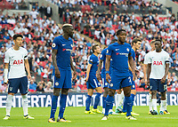 Chelsea's Michy Batshuayi ( right ) during the Premier League match between Tottenham Hotspur and Chelsea at Wembley Stadium, London, England on 20 August 2017. Photo by Andrew Aleksiejczuk / PRiME Media Images.