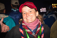 Sarah Jäger, CMT from BdP Germany is happy about the opening ceremony