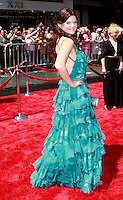 US actress Heather Tom arrives at the 35th Annual Daytime Emmy Awards held at the Kodak Theatre in Los Angeles on June 20, 2008.