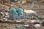 4 APRIL 2012, Kabul, Afghanistan:  The Hazrat Ali mosque in Kabul. Picture by Graham Crouch/The Australian