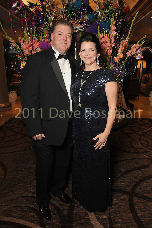 Misty and Don Ellis at the 20th San Luis Salute Friday Feb. 05, 2016.(Dave Rossman photo)