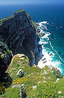 ZAF, Suedafrika, Kapstadt, Kap-Halbinsel Nationalpark: Ausblick auf Cape Point | ZAF, South Africa, Cape Town, Cape Peninsula National Park: viewpoint at Cape Point
