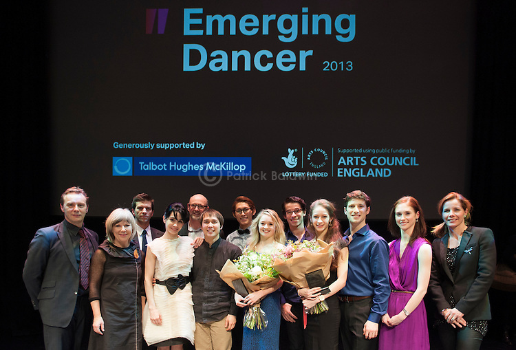 English National Ballet. Emerging Dancer competition 2013.
