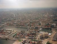 Juni 1998. Bonapartedok en Willemdok in Antwerpen.