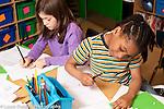 Education Elementary School Grade 1 children  in classroom