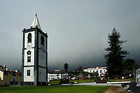 Torre do Relogio in Horta auf der Insel Faial, Azoren, Portugal