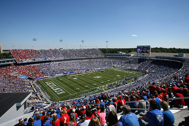 Commonwealth Stadium during the UK vs. UofL in Lexington, Ky., on Saturday, September 14, 2013. Photo by Michael Reaves   Staff