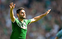 FUSSBALL   1. BUNDESLIGA   SAISON 2013/2014   2. SPIELTAG SV Werder Bremen - FC Augsburg       11.08.2013 Mehmet Ekici (SV Werder Bremen) bejubelt seinen Treffer zum 1:0