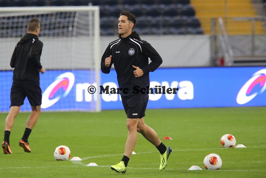 Srdjan Lakic (Eintracht) - Training zur Begegnung der Europa League Eintracht Frankfurt vs. Girondins Bordeaux