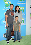 WESTWOOD, CA. - November 14: Jennifer Taylor and family arrive to the Los Angeles premiere of 'Planet 51' at the Mann Village Theatre on November 14, 2009 in Westwood, California.