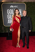 Blanca Blanco and John Savage arrive at the 75th Annual Golden Globe Awards at the Beverly Hilton in Beverly Hills, CA on Sunday, January 7, 2018.<br /> *Editorial Use Only*<br /> CAP/PLF/HFPA<br /> &copy;HFPA/Capital Pictures