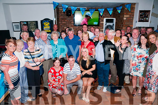 70th Birthday: Frank Reidy, Liselton celebrating his 70th birthday with family and friends at Brosnan's Bar, Listowel on Saturday night last.