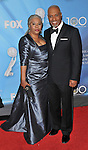 James Pickens Jr. and wife arriving at the 40th NAACP Image Awards held at the Shrine Auditorium Los Angeles, Ca. February 12, 2009. Fitzroy Barrett