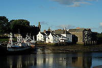 Kirkcudbright and Kirkcudbright Harbour, Dumfries and Galloway<br /> <br /> Copyright www.scottishhorizons.co.uk/Keith Fergus 2011 All Rights Reserved