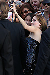 "ANGELINA JOLIE. Arrivals to the World Premiere of Sony Pictures' ""Salt"" at Grauman's Chinese Theatre. Los Angeles, CA, USA. July 19, 2010. CAP/CEL. ©CelPh/Capital Pictures."