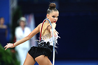 August 30, 2017 - Pesaro, Italy - DINA AVERINA of Russia performs during AA qualifying at 2017 World Championships.