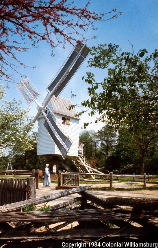 Williamsburg:  Robertson's Windmill.