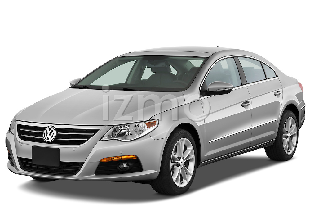 Front three quarter view of a 2009 volkswagen cc luxary.