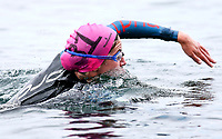 Mia Pugh. Swimming New Zealand Open Water Championships, 10km Epic, Lake Taupo, Waikato, New Zealand, Saturday 13 January 2018. Photo: Simon Watts/www.bwmedia.co.nz