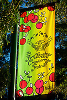 Cranberry Festival Sign Fort Langley B.C.