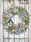 Dona Gelsinger, STILL LIFE STILLEBEN, NATURALEZA MORTA, paintings+++++,USGE1804,#i#, EVERYDAY,wreath