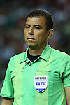 22 July 2015: Fourth Official Joel Aguilar (SLV). The Panama Men's National Team played the Mexico Men's National Team at the Georgia Dome in Atlanta, Georgia in a 2015 CONCACAF Gold Cup semifinal match. Mexico won the game 2-1 after extra time.